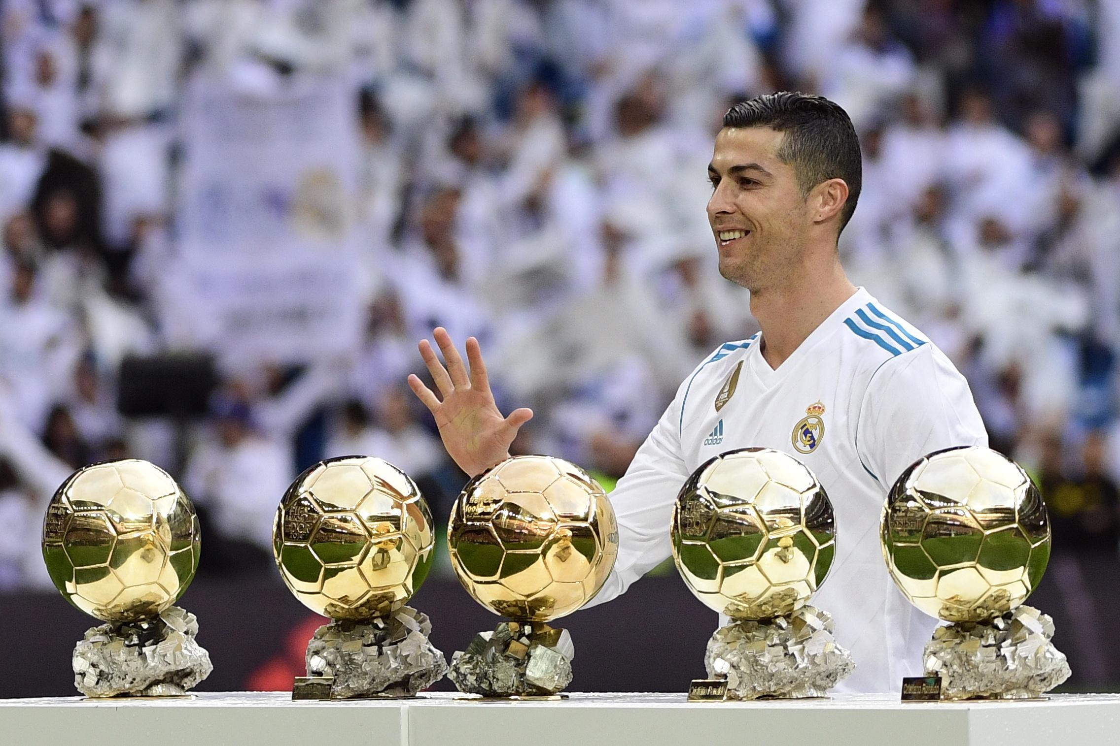 Các danh hiệu được trao giải quả bóng vàng 2015