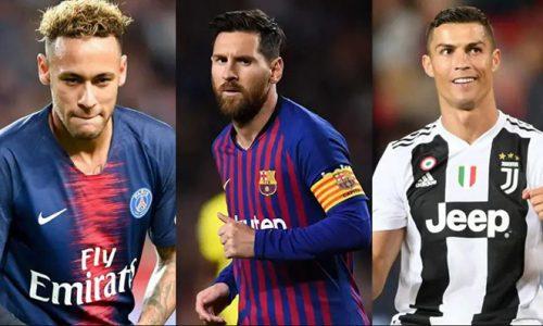 Top các cầu thủ lương cao nhất thế giới hiện nay